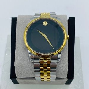 Movado Two Tone Museum Dial Watch